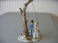 Nuova Capodimonte Swinging Couple Figurine Savastano