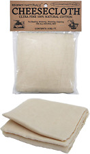 Kitchen Cheese Cloth Ultra Fine Grade Unbleached Natural Cotton Linen Fabric 9FT