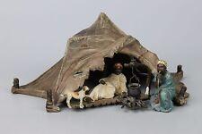 """Rare antique Franz Bergman Bronze """"Arabs Lounging"""" WorldWide"""