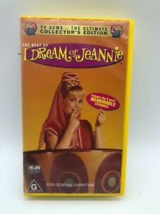 The Best of  - I DREAM OF JEANNIE - TV Gems - Rare VHS PAL Video - Free Post