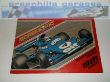 Greenhills Scalextric Electric Model Racing Catalogue 19th Edition 1978 - CAT19