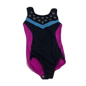 Freestyle Girls Gymnastics Dance Leotard, Size 7/8