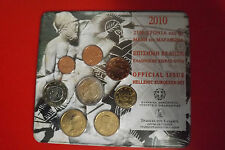 * Grecia Euro KMS 2010 * 1 cent - 2 EURO IN BLISTER