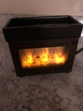 """Partylite Fireplace Candle Tart Warmer 5"""" x 5.5"""" Looks like Real Flame Htf Rare"""