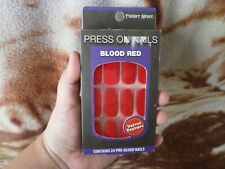 CLOSEOUT SALE! Imported FROM USA! Press-On Nails Velvet Texture