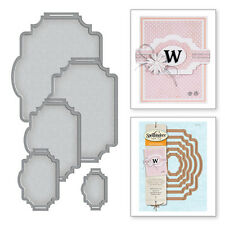 SPELLBINDERS BELLY BAND ONE LAYERING CARD CREATOR  CUT AND EMBOSS DIE SET S5-212
