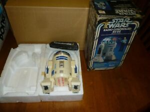 Star Wars Vintage Remote Control R2-D2 in the Original Box with Insert!