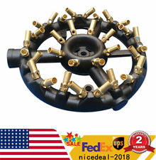 New listing Natural Gas Jet Burner For Chinese Wok Range Stir Fry Cast Iron Body Round Nozzl