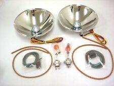 1928 1929 1930 1931 Ford Model A Quartz Halogen Headlight Reflector Kit 12 Volt