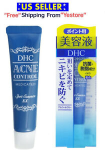 New JAPAN DHC Acne Control Medicated Spot Essence EX Blemish Treatment Serum 15g