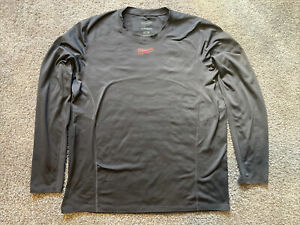 Milwaukee WorkSkin Dark Gray Cold Weather Base Layer Size XL Made in USA