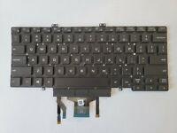 Genuine Dell Latitude 5400 5401 Laptop US Backlit Dual Point Keyboard - 3J9FC
