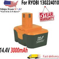 14.4V 3000mAh For Ryobi 130224010 Ni-CD MAX Battery HP1441 Drill