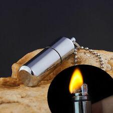 Mini Emergency Gear Fire Stash Waterproof Survival Lighter Camping Useful Tool