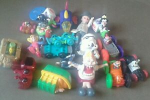 Mixed Fast Food Toy Lot ~ Star Wars~ Disney~Looney Tunes~ DC