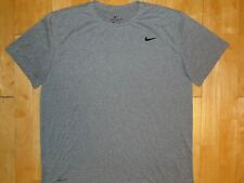 New listing NIKE Mens DRI-FIT Gray Extra Large Athletic Short Sleeve XL Shirt THE NIKE TEE