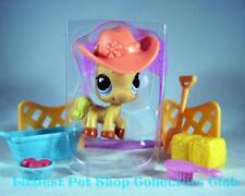 Littlest Pet Shop Halloween Palomino HORSE &Hat lot #1081 Rare Retired BRAND NEW