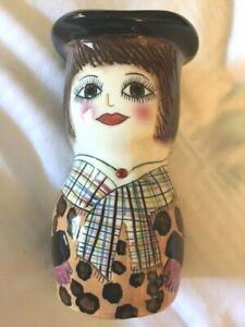 Susan Paley Bella Casa JANE Vase Holder by Ganz RARE Cute!