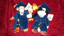 NWT Disneyland Grad Night TIGGER & GOOFY Graduation Bean Bag Plush Walt Disney