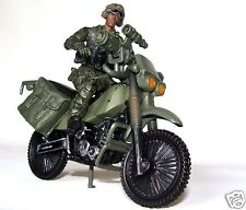 1:18 BBI Elite Force Figure soldier with Off Road Dirt Bike for Special Forces