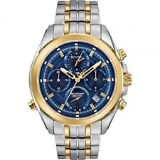 Mens Bulova Precisionist Chrono Chronograph Watch 98B276