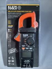 Klein Tools Cl800 Digital Clamp Meter 600a Acdc Auto Range Trms Low Impedance