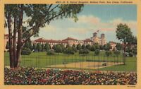 Postcard US Naval Hospital Balboa Park San Diego California CA
