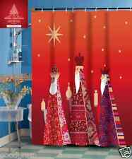 Three Kings Christmas Fabric Shower Curtain By GoodGram¨