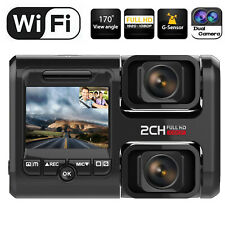 New listing Wifi Fhd Dash Cam Infrared Night Vision Dual 1080P Front and Inside Dash Camera