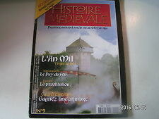 ** Histoire Médiévale n°9 La prostitution / Le Puy du Fou / Virges Armes