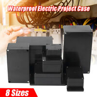 Enclosure Box Waterproof Plastic Electronic Project Instrument Electrical