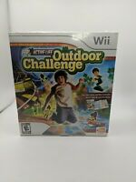 NEW Active Life Outdoor Challenge Game & Mat Bundle Lot Nintendo Wii