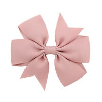 Girls Baby Kids Bowknot Headwear Hair Bow Women Hair Clip Pin Accessories