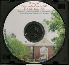 Edgecombe County North Carolina History