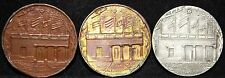 SIMON BOLIVAR 1930 SET OF 3 RARE MEDALS COMPLETE COLLECTION