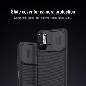 Nillkin Slide Cover Camera Lens Protection Back Case For Xiaomi Redmi Note 10 5G