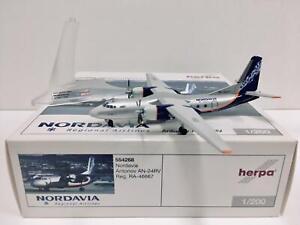 HERPA 1:200 Nordavia Antonov AN-24RV RA-46667 554268