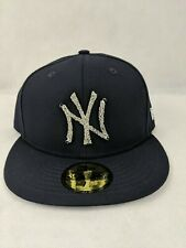 NEW ERA 9FIFTY SNAPBACK HAT CAP MLB NEW YORK NY YANKEES Metal Yankees Badge