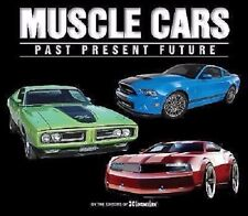 """""""Muscle Cars--Past, Present, Future"""" brand new full-color hardcover book--GM"""