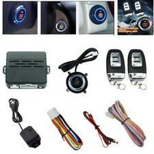 Car Alarm Security System Vehicle Keyless Entry Ignition Remote Starter w/2 Key