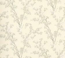Laura Ashley Forsythia Natural wallpaper floral leaf design Price per roll