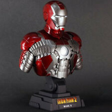 Hot Toys Bust 1/4 Scale Collectible Iron Man 2 Mark 5