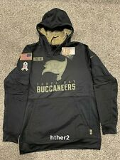 AUTHENTIC Nike 2020 Tampa Bay Buccaneers Salute to Service Hoodie All Sizes