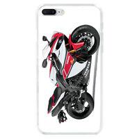 Motorbike Ducati Soft TPU Case Back Cover For iphone 7 6S 8 Plus 5S X
