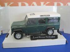 Die cast 1/43 Modellino Auto Land Rover Defender 110 Verde by Cararama