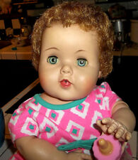 "1950's American Character Toodles Baby Doll with Rooted Hair 20"" Last Time Offer"