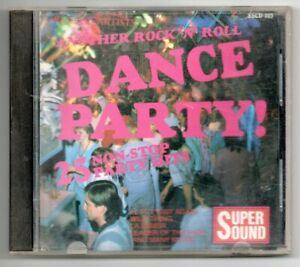 Various Artists: Rock 'n' Roll  Dance Party Mix CD  Good Condition