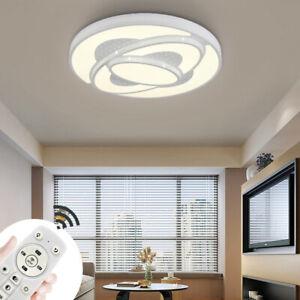48W-72W LED Dimmbar Deckenleuchte Deckenlampe Wohnzimmer Badleuchte Küchen Lampe