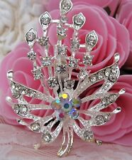 Ladies Crystal Rhinestone Brooch new