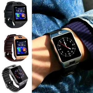 Waterproof Bluetooth Smart Watch w/Cam Phone Mate For iphone IOS Android Samsung